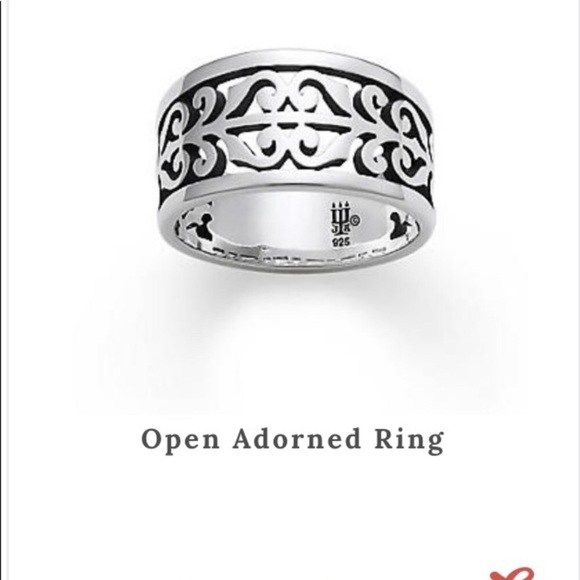 James Avery Jewelry - James Avery open adorned ring